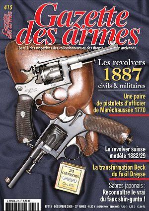 Revolver M.A.S. ? Mle 1888 civil ? Gazett10
