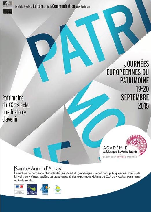 Journées du Patrimoine à Sainte-Anne-d'Auray Jp-sad10