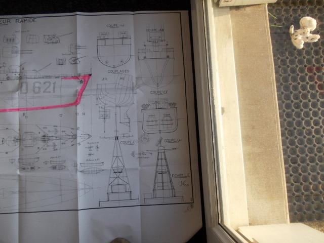 Le Goeland Maquette sur plan MRB  Dscn1666