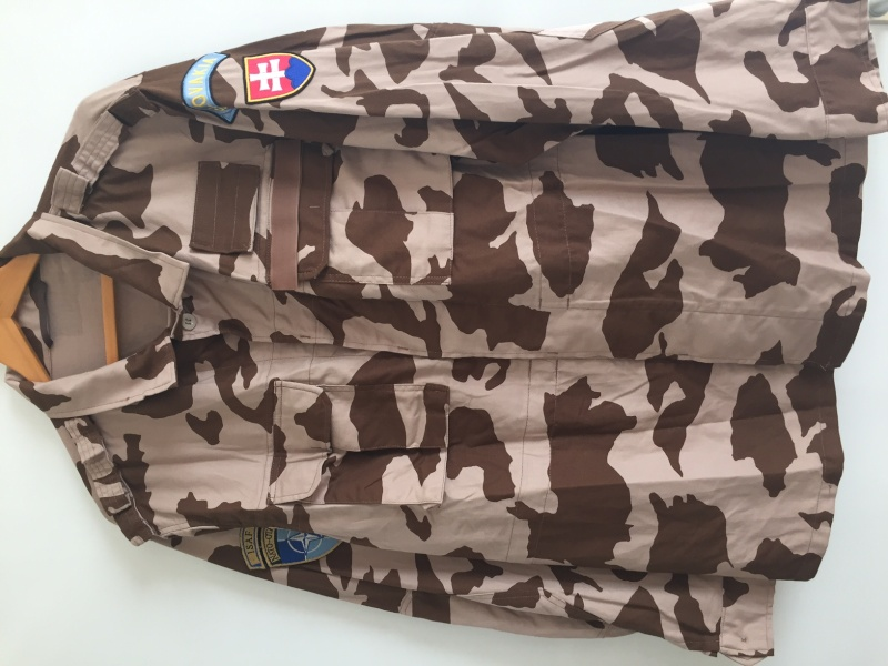 Slovakia Desert isaf uniform Image116