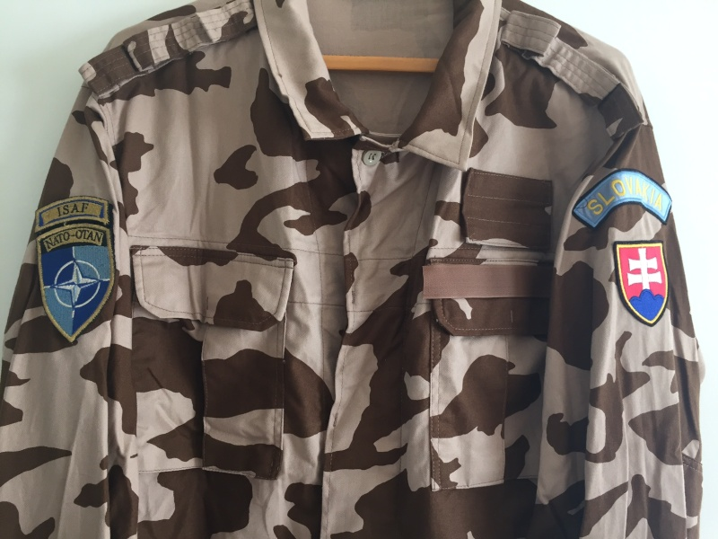 Slovakia Desert isaf uniform Image216