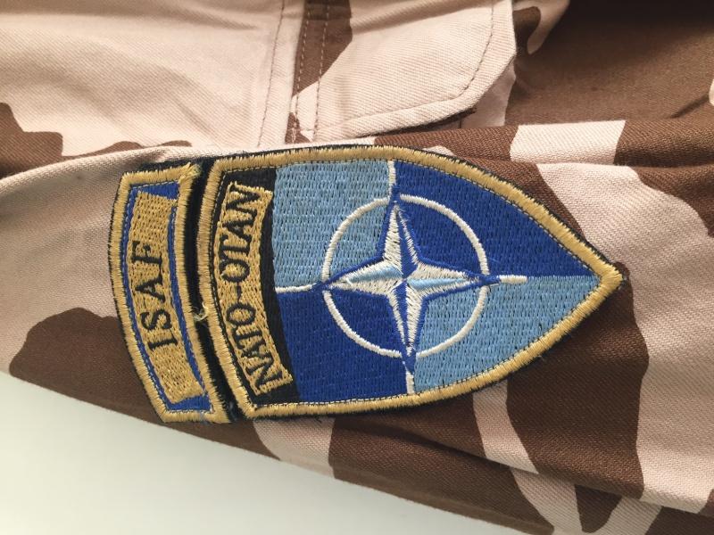 Slovakia Desert isaf uniform Image312