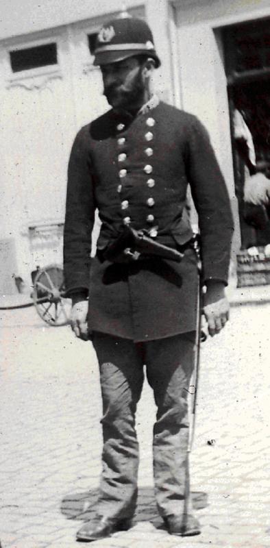 De quel corps est ce soldat certainement belge Gentse10