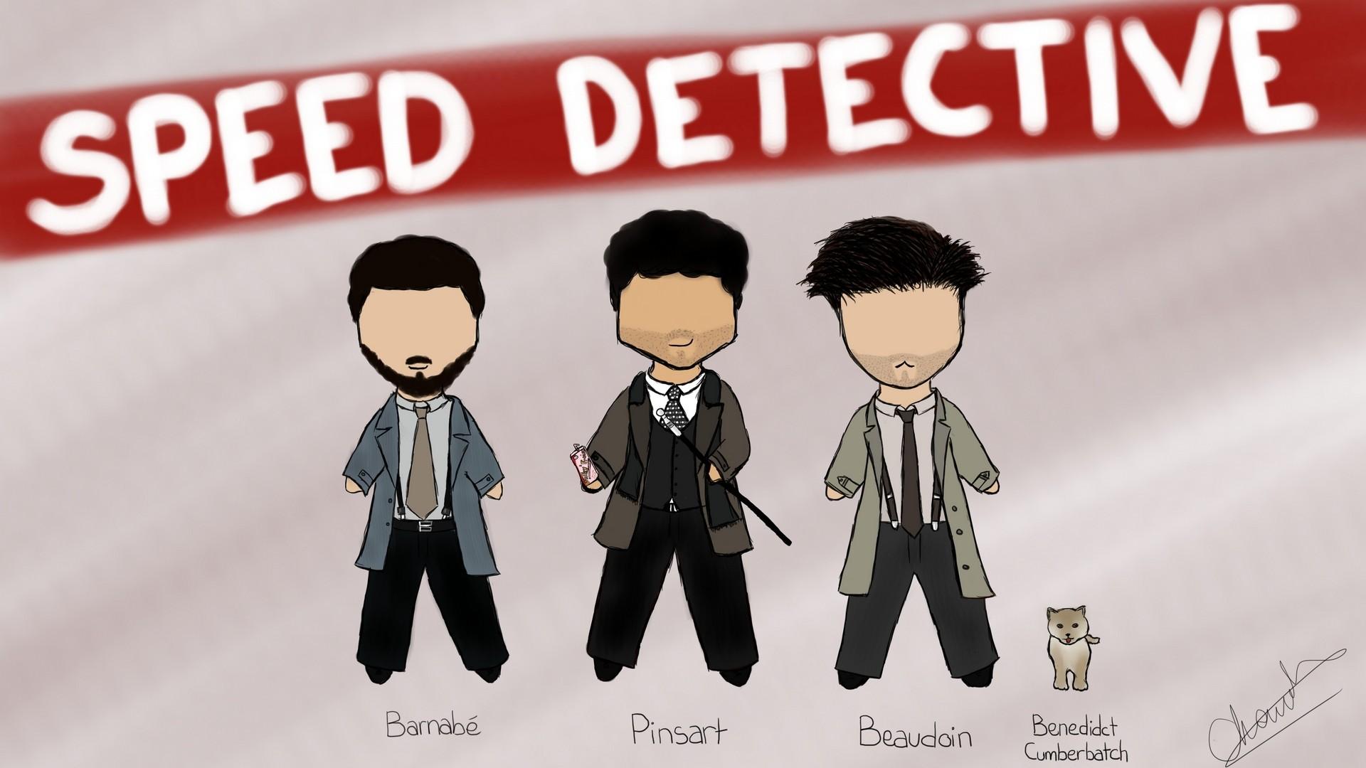 [Dessin] Speed Detective Speed_12