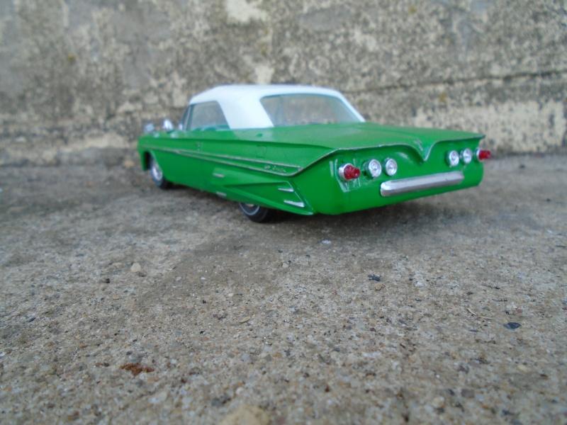 1961 Chevy Impala convertible - customizing kit amt - 1/25 Dsc00214