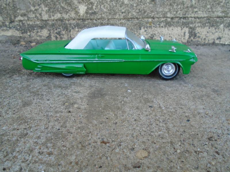 1961 Chevy Impala convertible - customizing kit amt - 1/25 Dsc00215