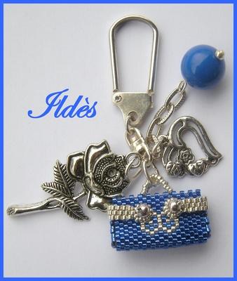 2 nouveaux porte-clefs/bijoux de sac Porte-10
