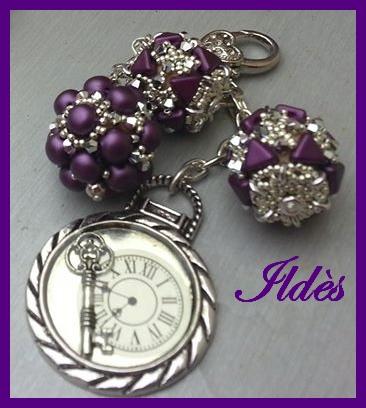 2 nouveaux porte-clefs/bijoux de sac Porte-11