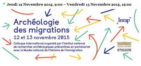 Archéologie des migrations, en direct Archeo10