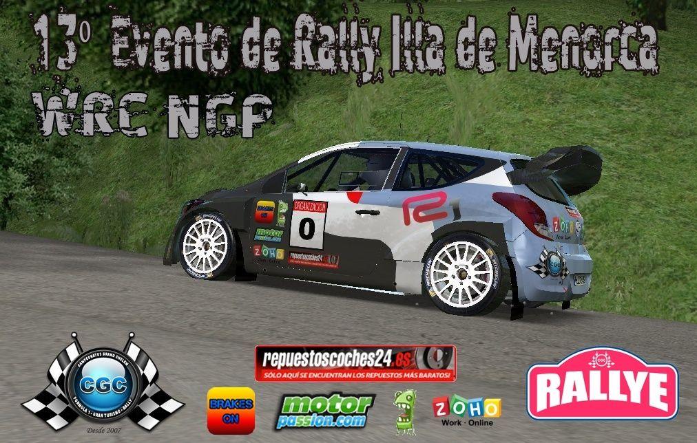 13º Evento Rallysprint Illa de Menorca WRC NGP CGC 41010