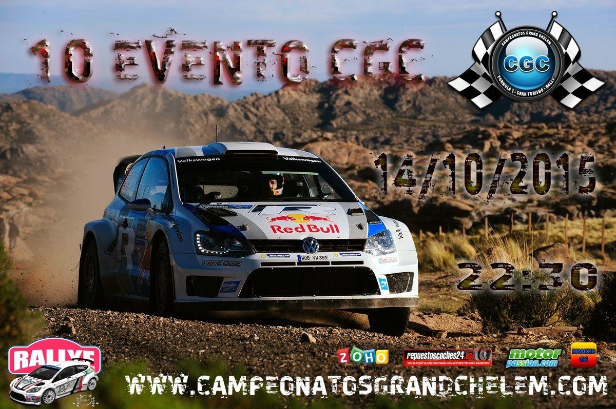 10º Evento WRC CGC Cartel10