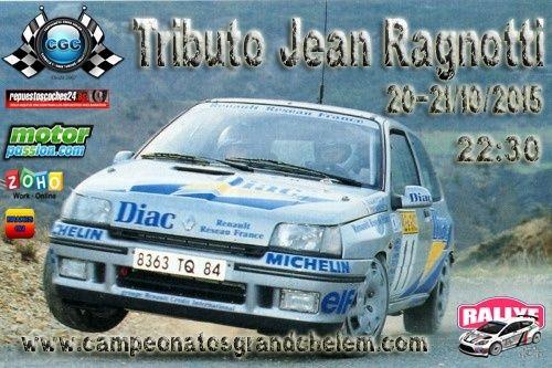 11º Evento Tributo Jean Ragnotti CGC  Cartel15