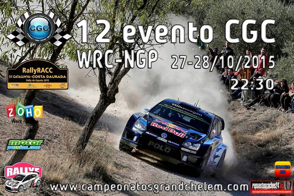 12º Evento WRC Rally RACC CGC Cartel16