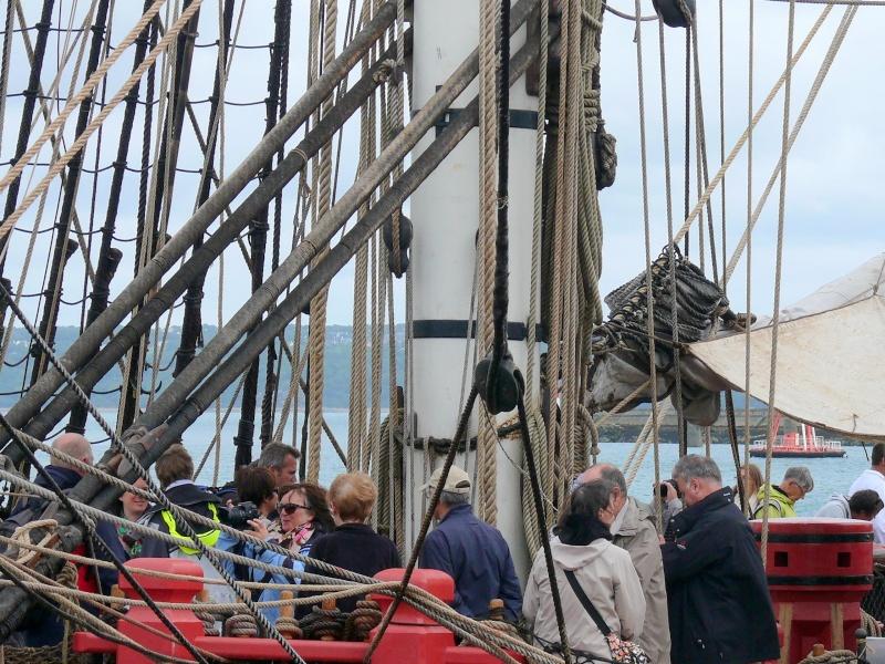 L'HERMIONE en escale à Brest du 12 au 17 Aout 2015 - Page 3 L_herm74
