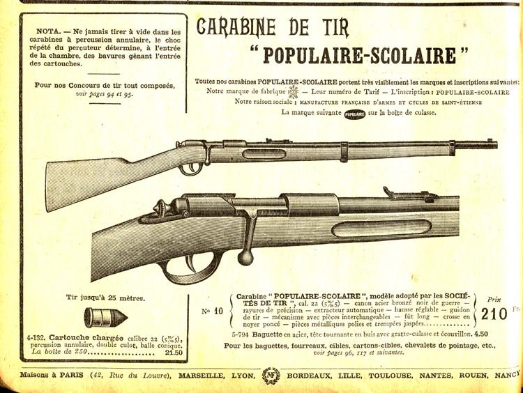 Cherche à déterminer le modèle de cette carabine Popula14