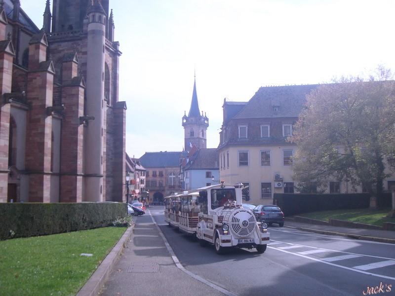 Petit train touristique d'Obernai  Dsc06610
