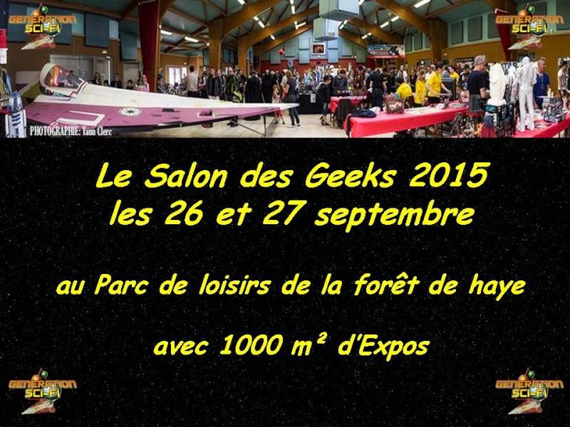 Salon des Geeks Génération Sci-Fi 10389110