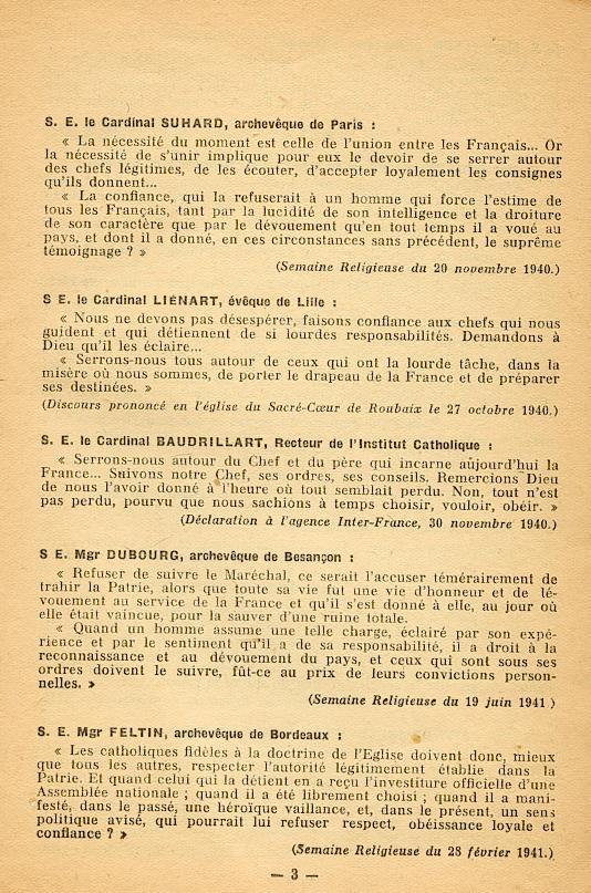 """""""Français ! vos évêques vous parlent..."""" (Recueil publié en 1942) Franya12"""