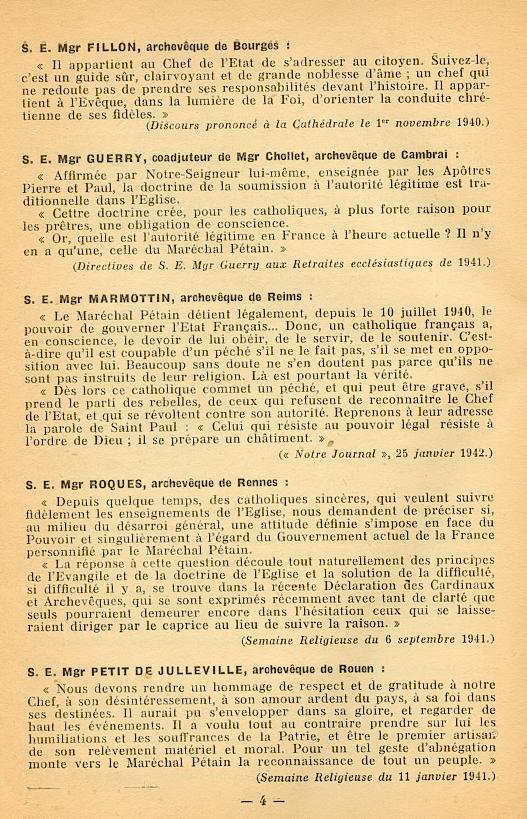 """""""Français ! vos évêques vous parlent..."""" (Recueil publié en 1942) Franya13"""