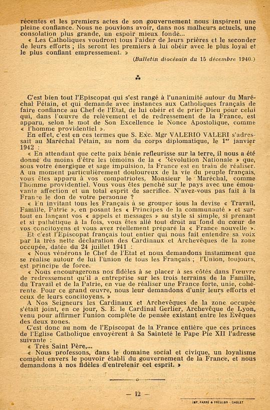 """""""Français ! vos évêques vous parlent..."""" (Recueil publié en 1942) Franya21"""
