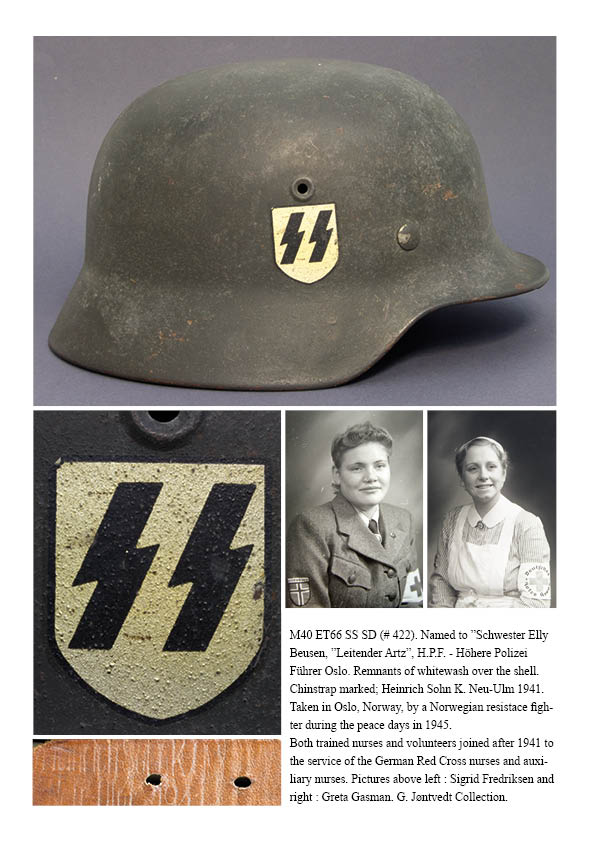 Livre German World War II Helmets & Headgear Presen12