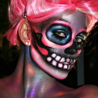 Maquillage pour Halloween Hallow10