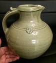 Large jug with prunts - Peter Snagge, Tichborne Pottery nr. Alresford Image330