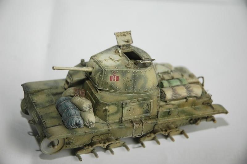 CARRO ARMATO M13/40 TAMIYA PE ET ACCESSOIRES ROYAL MODEL 1/35 TERMINE - Page 5 Ca3710