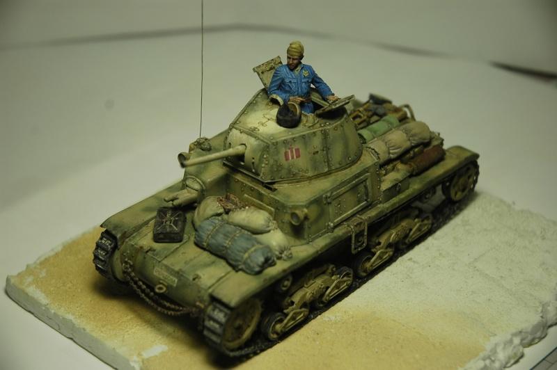 CARRO ARMATO M13/40 TAMIYA PE ET ACCESSOIRES ROYAL MODEL 1/35 TERMINE - Page 7 Ca4110