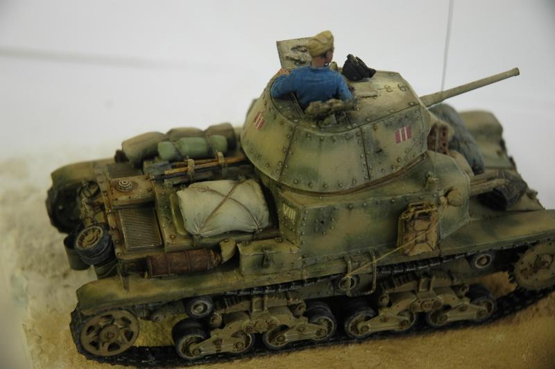 CARRO ARMATO M13/40 TAMIYA PE ET ACCESSOIRES ROYAL MODEL 1/35 TERMINE - Page 7 Ca4310