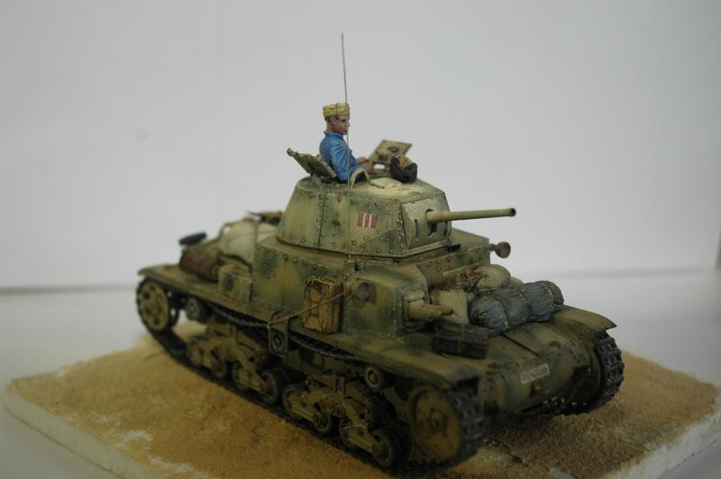 CARRO ARMATO M13/40 TAMIYA PE ET ACCESSOIRES ROYAL MODEL 1/35 TERMINE - Page 7 Ca4410