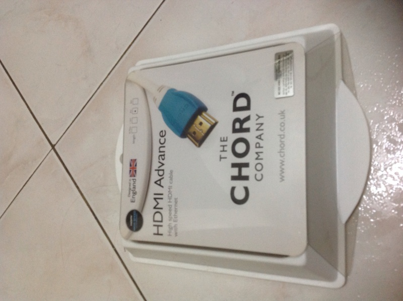 Chord Company Advance HDMI cable(Sold) Image21