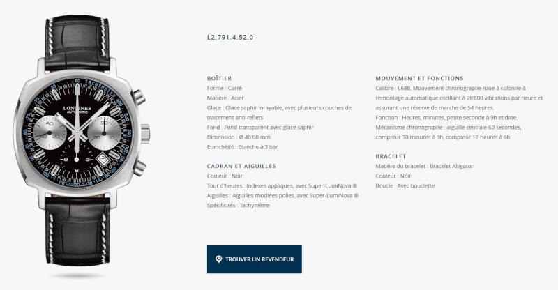 Actualités des montres non russes - Page 4 Longin10