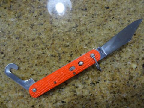 datant d'un couteau de poche Remington