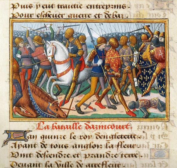 Il y a 600 ans, le premier gendarme tombait au champ d'Honneur . Azinco10