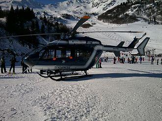 Unités de montagne de la Gendarmerie nationale . Euroco10