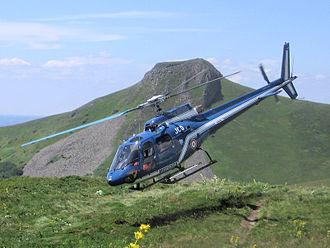 Unités de montagne de la Gendarmerie nationale . Helico10