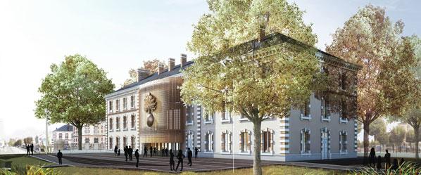 Inauguration du nouveau musée de la Gendarmerie nationale . Musee-10