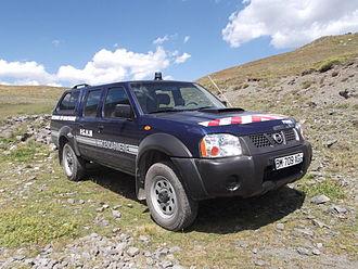 Unités de montagne de la Gendarmerie nationale . Nissan10