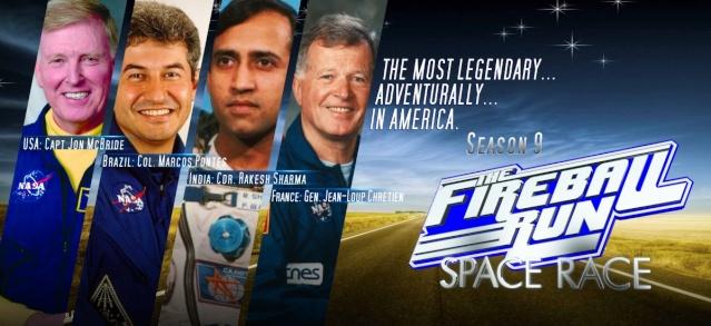 Fireball Run - Space Race / 4 astronautes vont s'affronter 16810