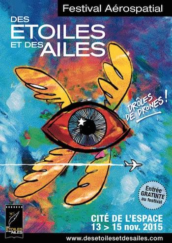 Festival Des Etoiles et des Ailes à la Cité de l'Espace àToulouse avec Michel Tognini - 13 au 15 novembre 2015 Des_et10