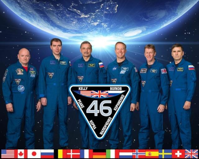 Vol spatial de Timothy Peake / Expedition 46 et 47 - PRINCIPIA / Soyouz TMA-19M E4610