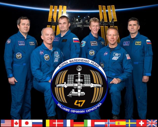 Vol spatial de Timothy Peake / Expedition 46 et 47 - PRINCIPIA / Soyouz TMA-19M Expedi11