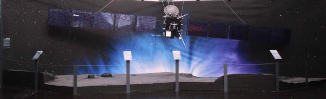 [Exposition] Comètes - aux origines des systèmes planétaires / jusqu'au 3 janvier 2016 au Musée de l'Air et de l'Espace au Bourget Img_2711