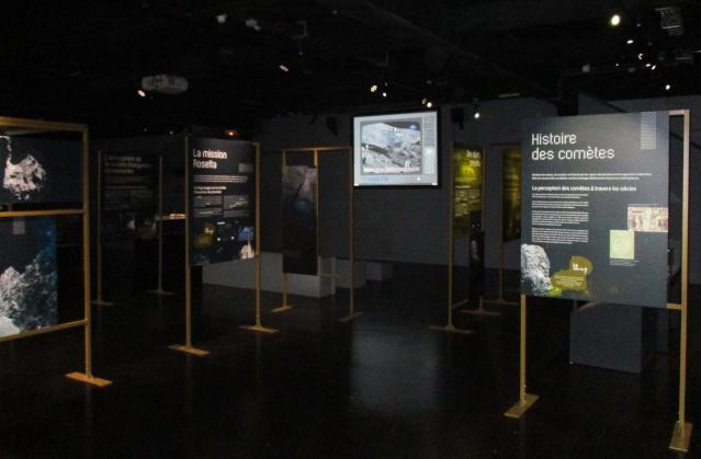[Exposition] Comètes - aux origines des systèmes planétaires / jusqu'au 3 janvier 2016 au Musée de l'Air et de l'Espace au Bourget Img_2712