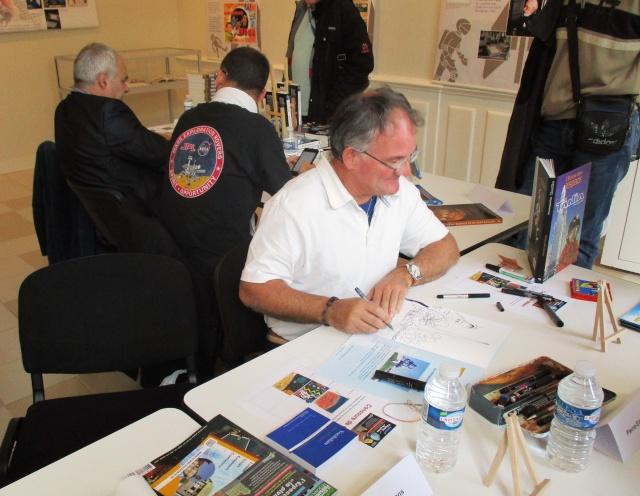 Dimanche 4 octobre 2015 - 2ème rencontres de l'Espace et la Plume à Drancy (93) - Expositions spatiales Img_3315