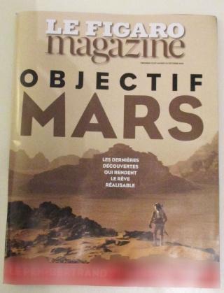 [Magazine / Journal] Objectif Mars - Le Figaro Magazine du 23 et 24 octobre 2015 Img_4010