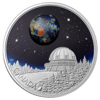 Canada - Pièce de 20$ en argent astronomie - L'Univers Piece_10