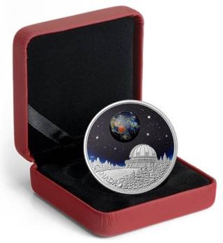 Canada - Pièce de 20$ en argent astronomie - L'Univers Piece_12