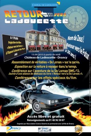[Expo-Conférence] 30 ans Retour vers le Futur - Retour vers Ladoucette à Drancy (93) / 13 septembre 2015 Retour10